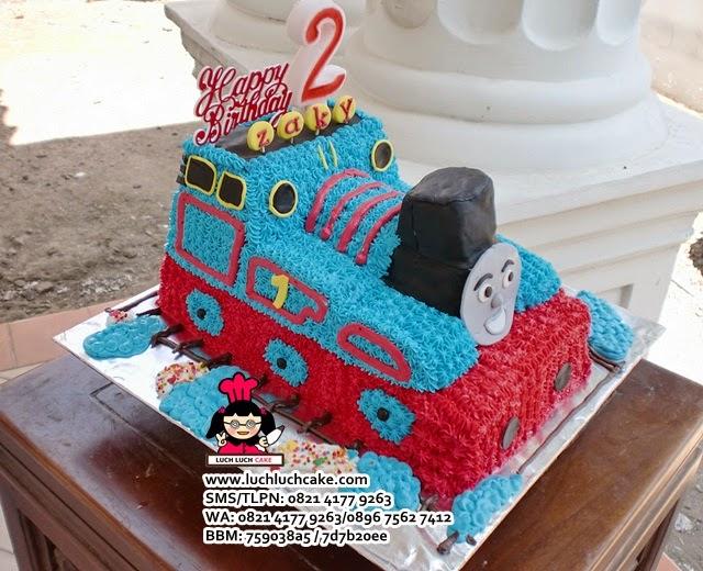Kue Tart Thomas The Tank Engine Daerah Surabaya - Sidoarjo