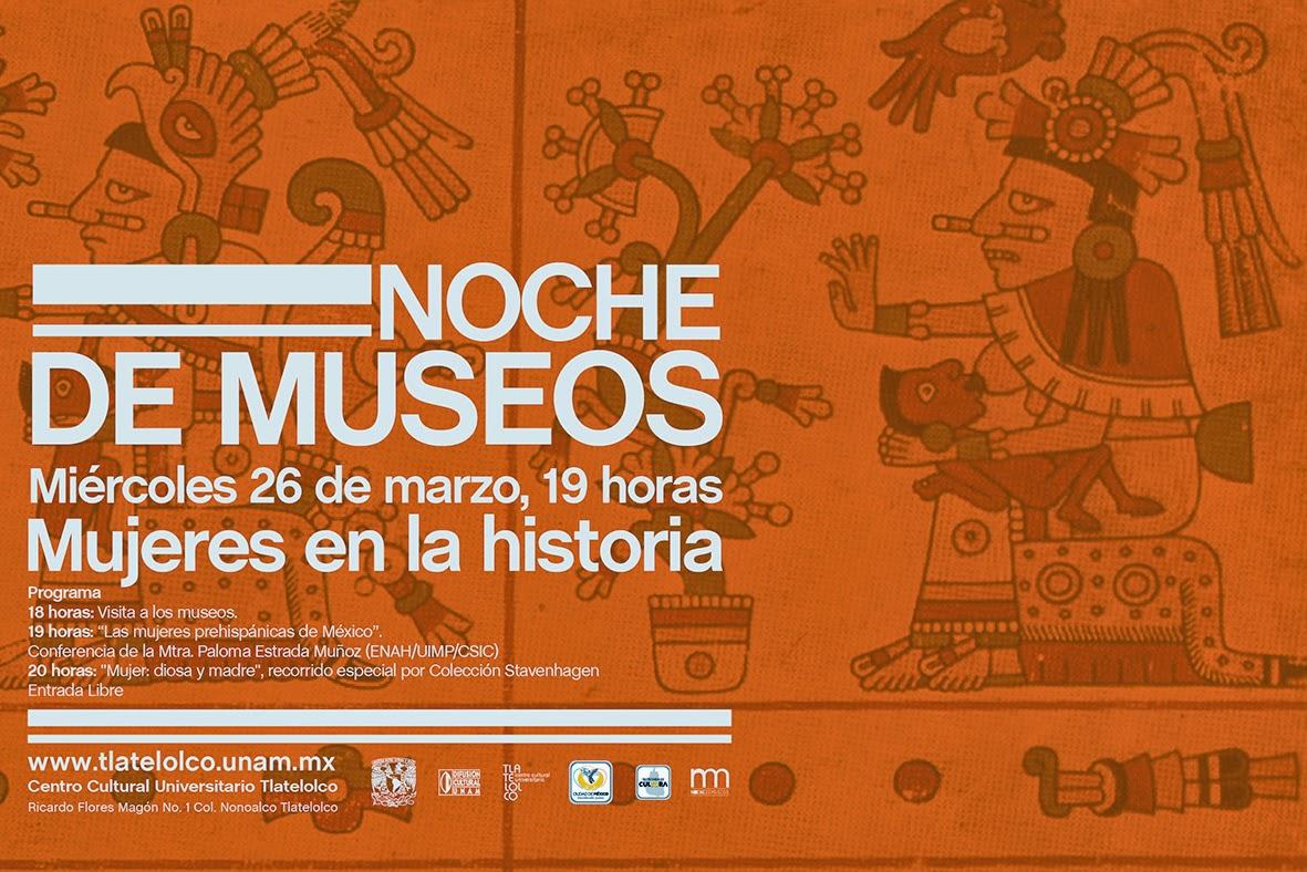Noche de Museos en Tlatelolco dedicada a la mujer prehispánica