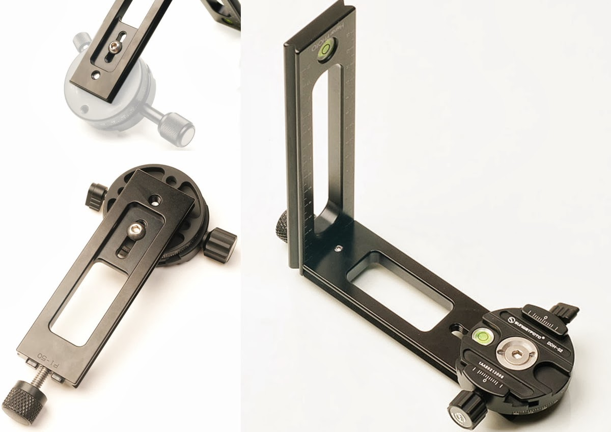 Hejnar 4/3 Quick Connect Set - Panoramic clamp attachment seq.