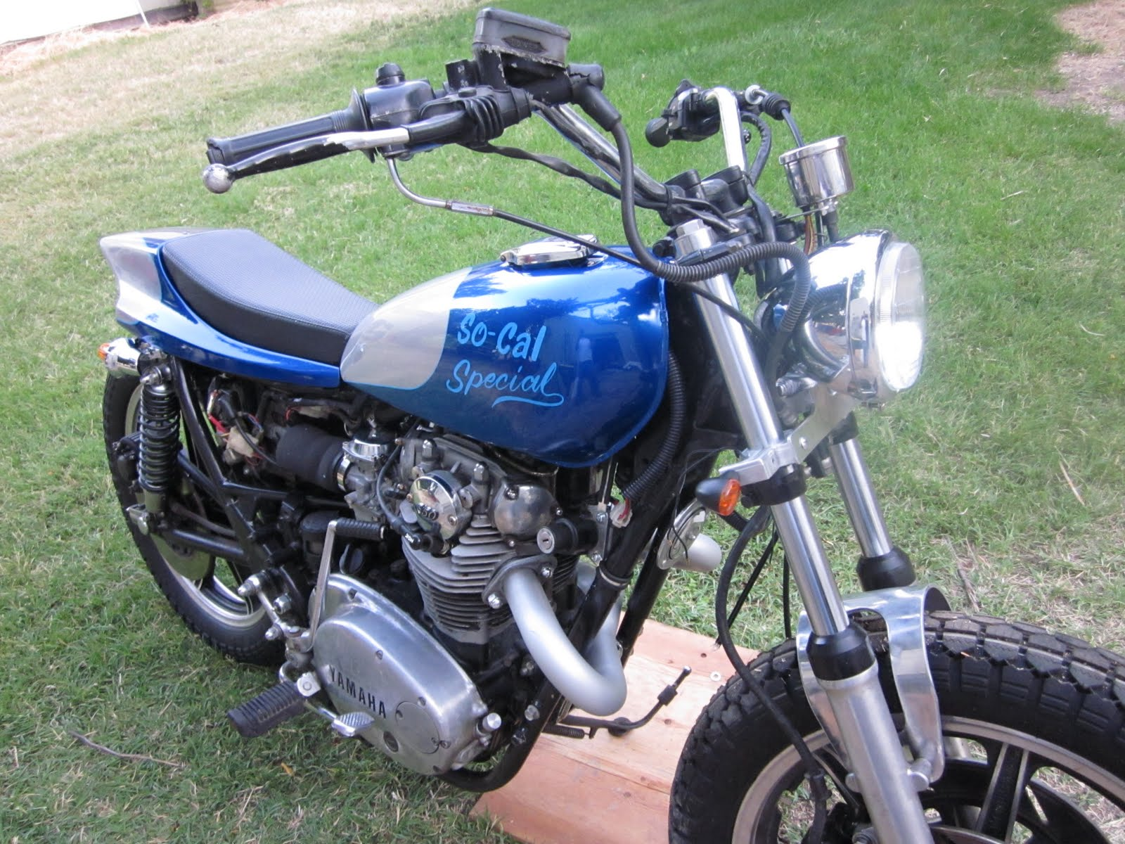 OldMotoDude  1980 Yamaha XS650 Street Tracker Project   Progress