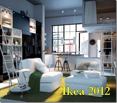 Novo catálogo Ikea 2012