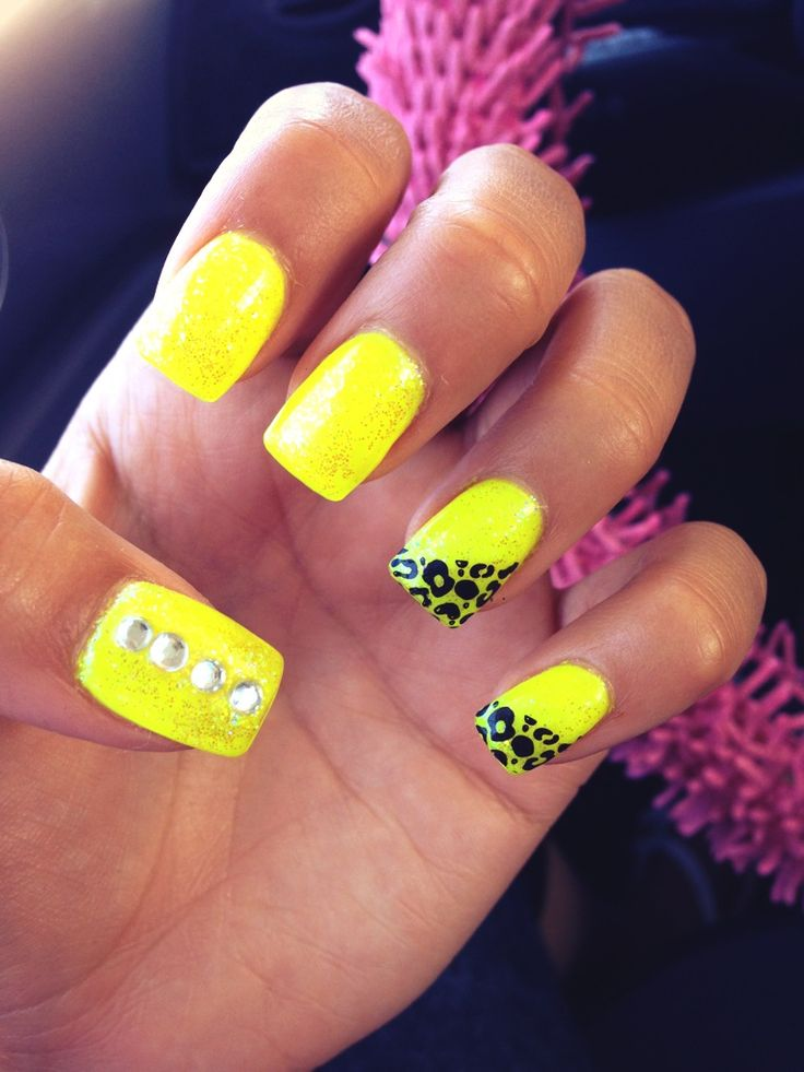 Beauty O\'holic: Most Impressive Neon Nails From Pinterest