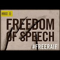 Amnesty International Free Raif Badawi Campaign