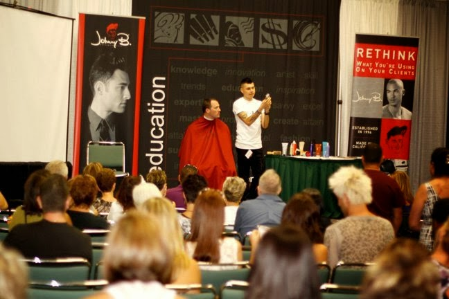 GQ - Educator/ Platform Artist for Johnny B Hair Care