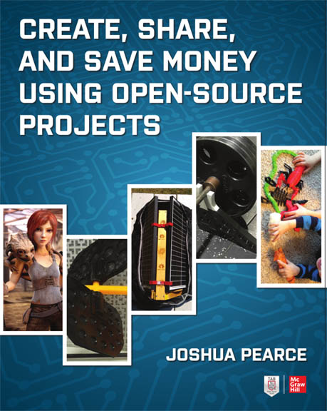 New book by Michigan Tech's Joshua Pearce