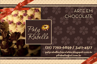 Paty Rabello chocolates