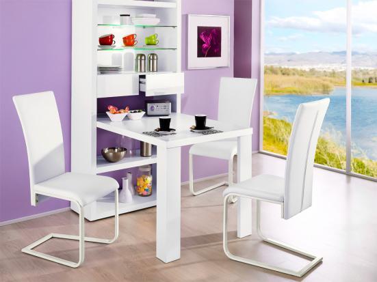 Artesanato Com Tecido De Juta ~ Querido Refúgio Blog de decoraç u00e3o Ganhar espaço com mesas dobráveis ou extensíveis