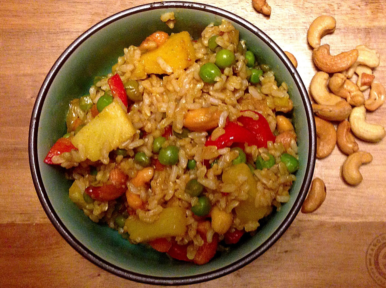 Make your own Pineapple Fried Rice! It'll be amazing.