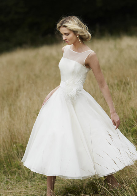 Big Shark: Having Perfect Look with Short Wedding Dresses