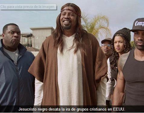 Un Jesucristo negro desata la ira de grupos cristianos en EEUU