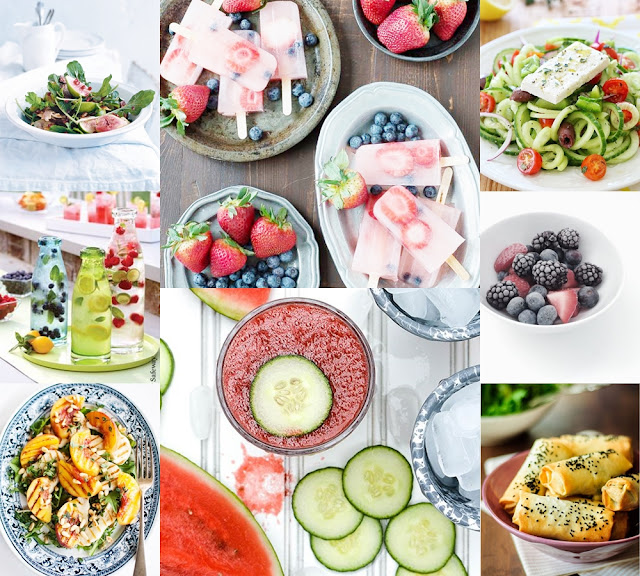 light summer food recipes
