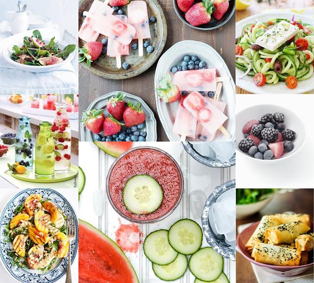 light summer food recipes