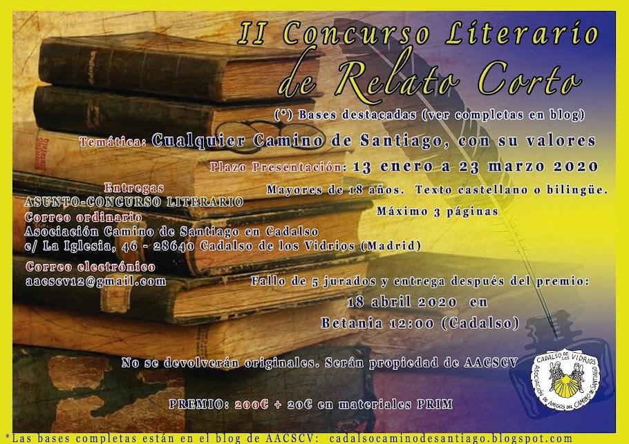 CONCURSO LITERARIO RELATO CORTO 2021