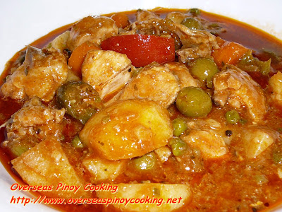 Chicken Caldereta