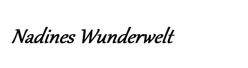 Nadines Wunderwelt