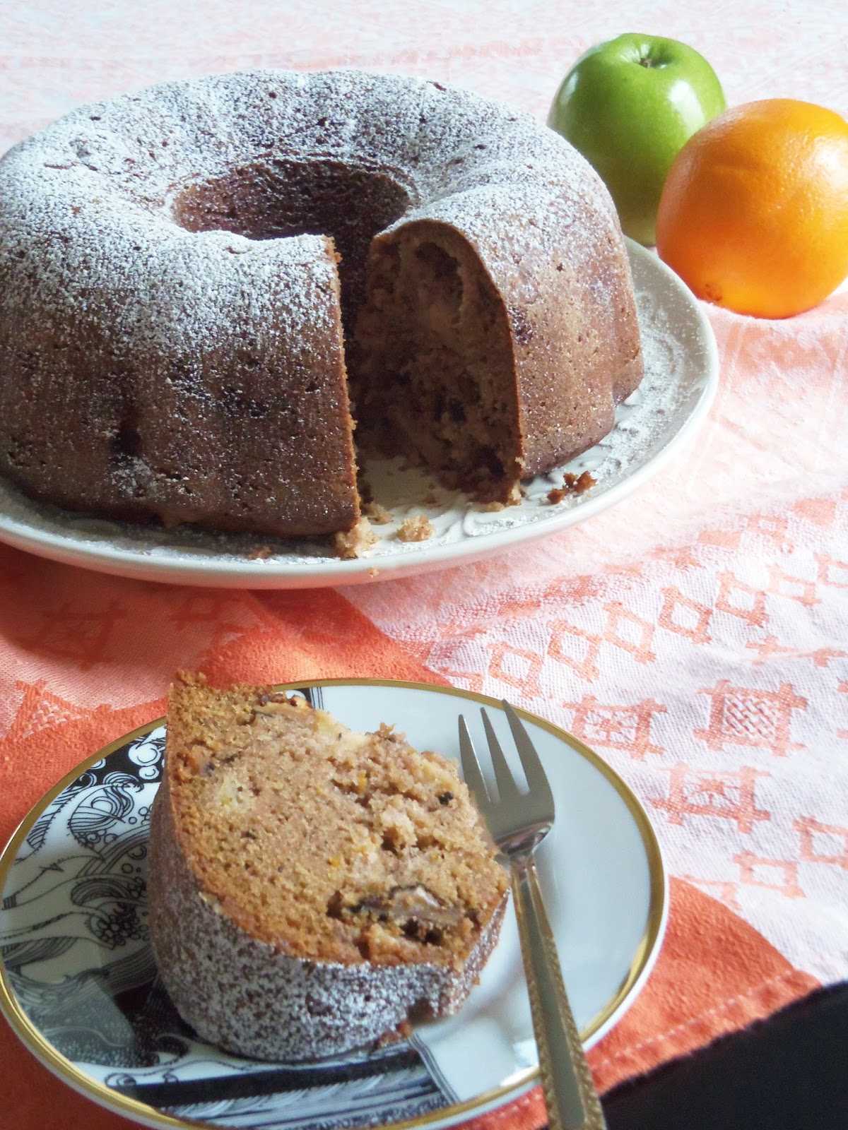 Giada Apple Bundt Cake