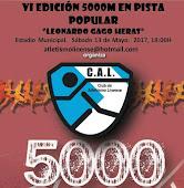 VI 5000 METROS EN PISTA, LA LÍNEA