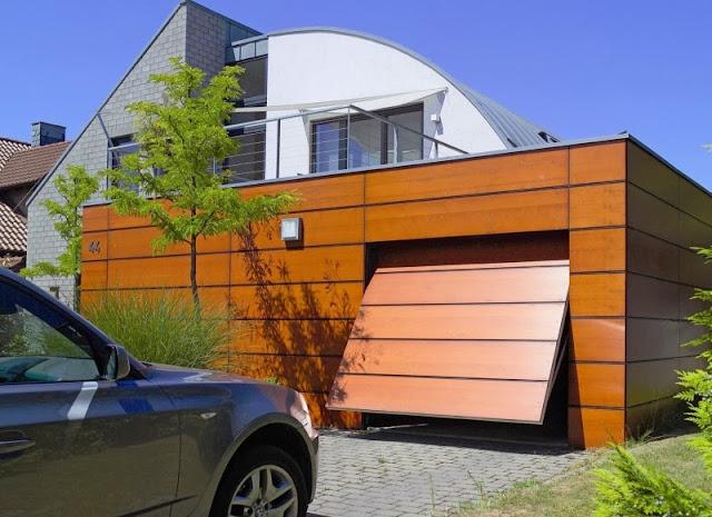 Comment repeindre une porte de garage - Repeindre une porte ...