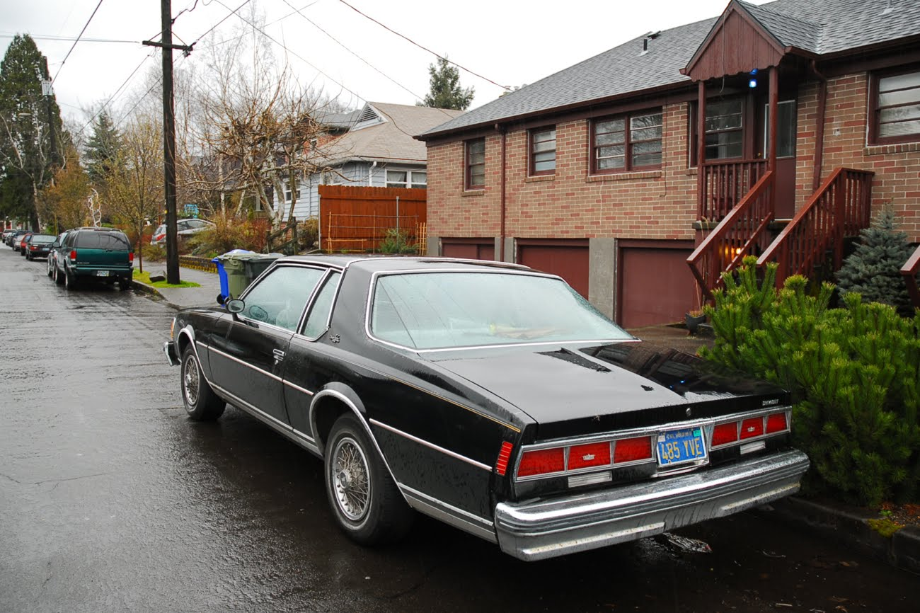 OLD PARKED CARS.: 1979 Chevrolet Caprice Landau.