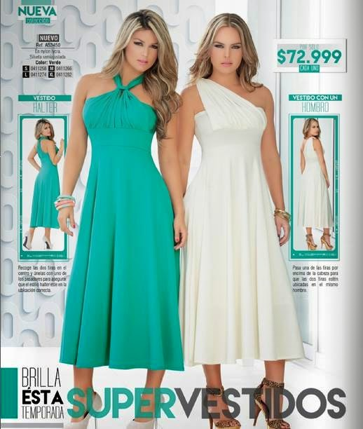 Vestidos Dolce C-2 2015