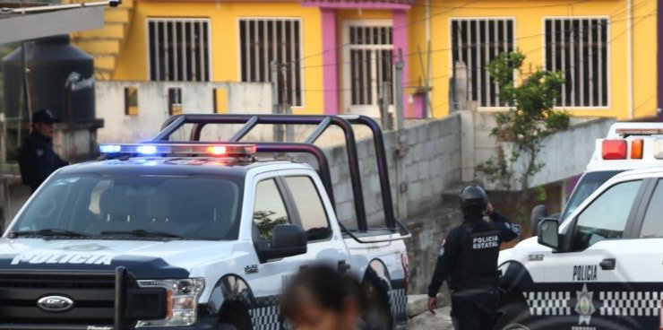 TRISTE ESCENARIO: EL EJECUTADO DEL DÍA. AHORA EN COLONIA CASA BLANCA DE XALAPA
