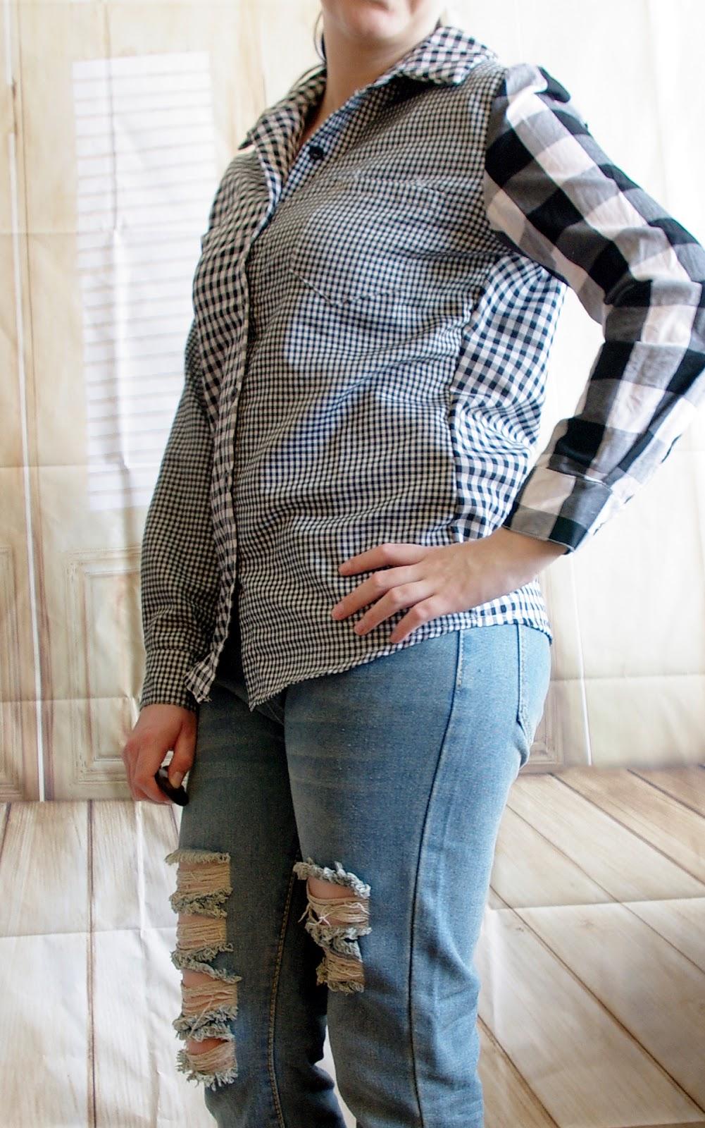 How to style a Boyfriend Jeans - Teil 7: Karohemd