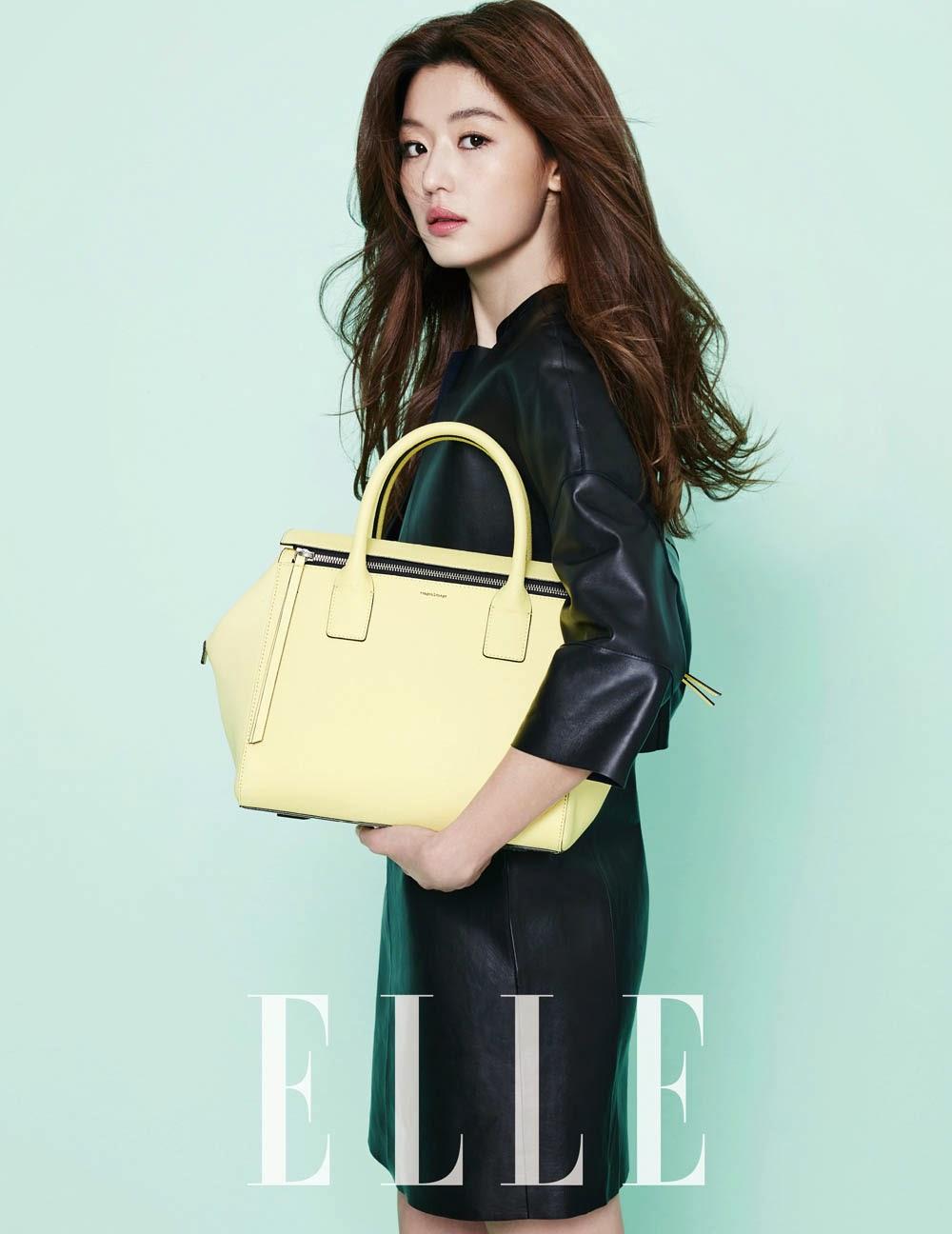 Jeon Ji Hyun - Elle Magazine February Issue 2014