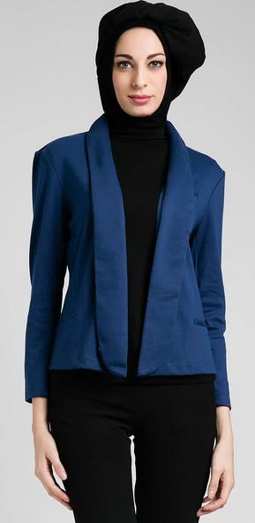 Model Baju Kerja Muslim Wanita Modern Terbaik Terbaru 2015