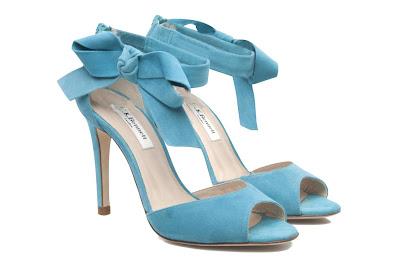 Aqua high heel shoes from LK Bennett