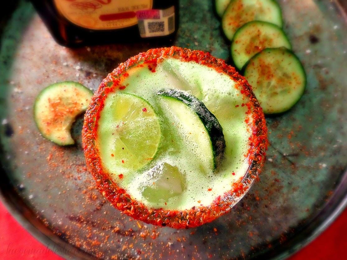 Cucumber Lime Margaritas - lacocinadeleslie.com