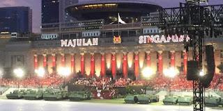 Singapore celebrates a birthday or 50th anniversary