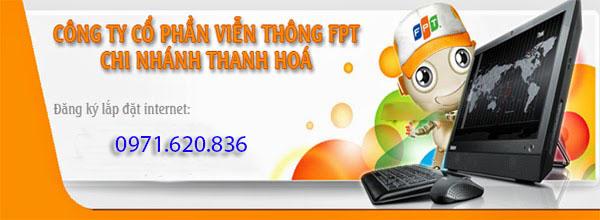 Khuyến Mãi Internet fpt Cáp Quang Thanh Hóa