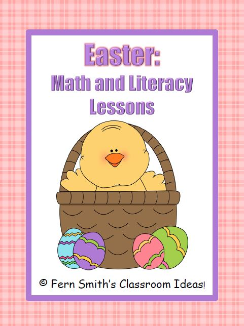 Fern Smith's Easter - Math and Literacy Lessons