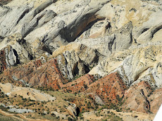 Aerial View of the Waterpocket Fold monocline of Capitol Reef, Utah