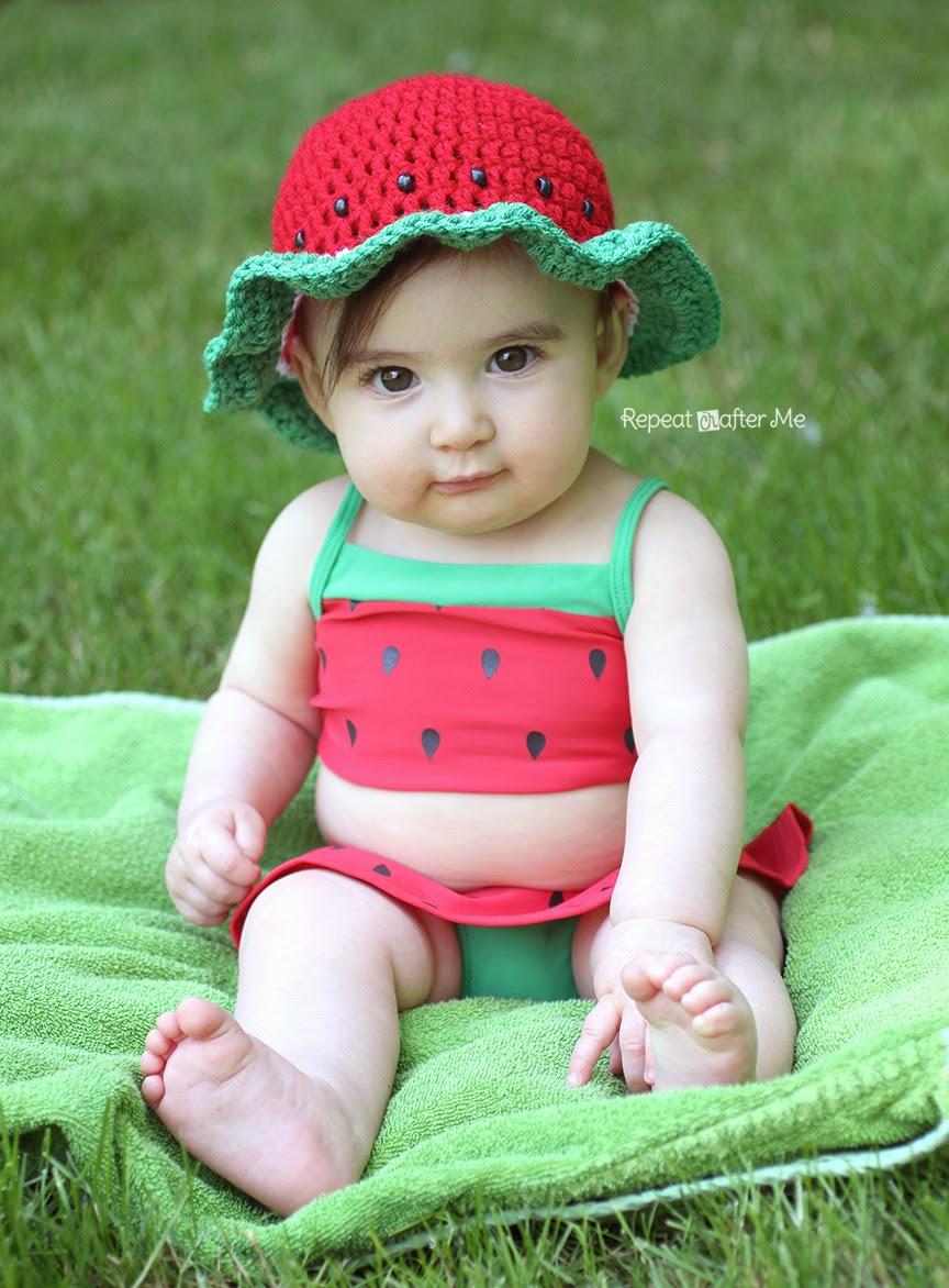 Karpuzlu Yazlık Şapka