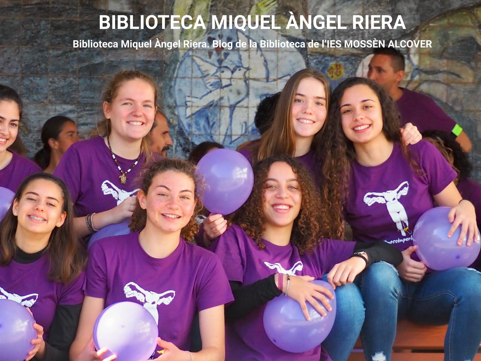 BIBLIOTECA MIQUEL ÀNGEL RIERA