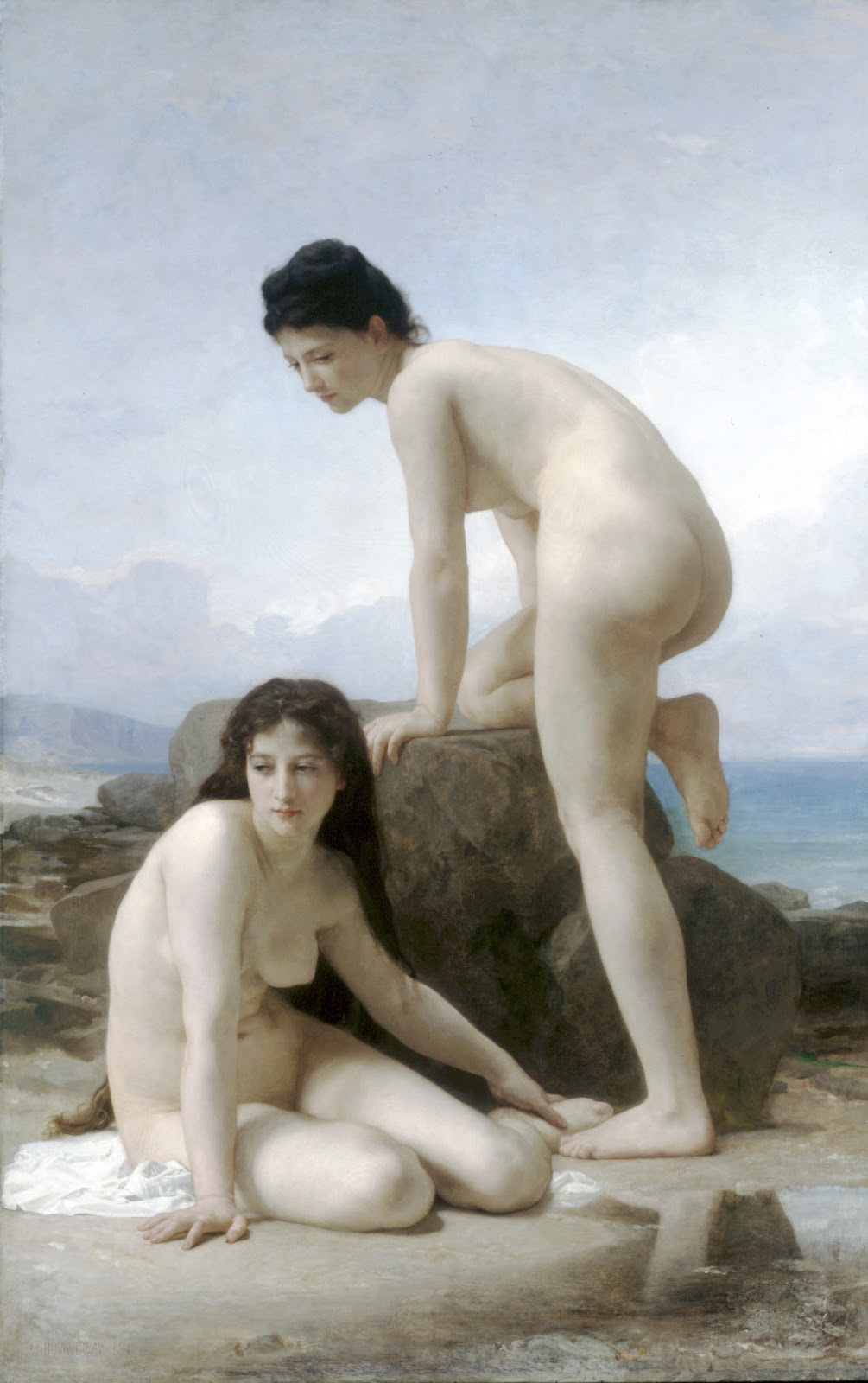 The Two Bathers. 1884. Óleo sobre tela - 129 x 201 cm