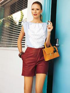 Burda 121, 5/2012 - Shorts