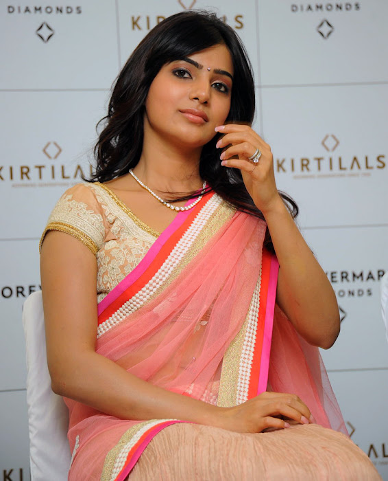 samantha beautiful saree unseen pics