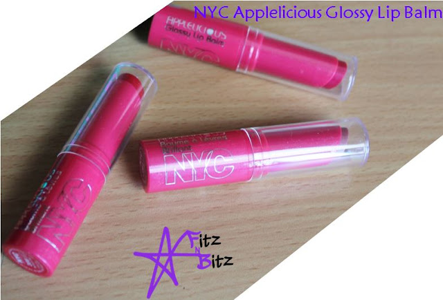 NYC Applelicious Glossy Lipbalm Review