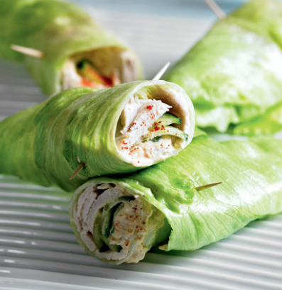 Clean Eating Lettuce Wrap Recipe