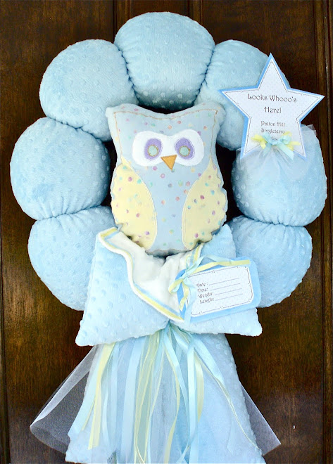 "81. custom ""owl"" Baby wreath"
