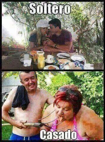 Solteros vs Casados