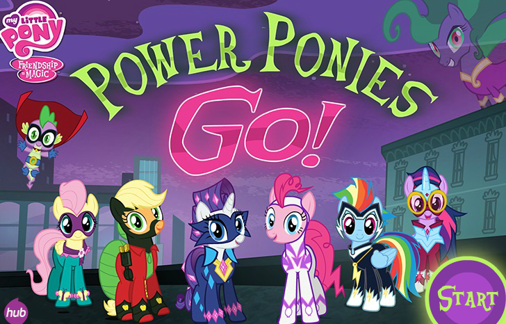 equestria daily mlp stuff power ponies go new game at hubworld