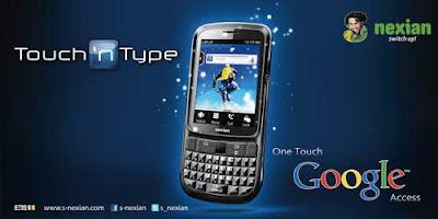 S Nexian Touch n Type G790 harga dan spesifikasi