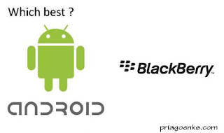 blackberry dan android