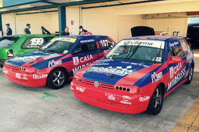 Os carros de Odair dos Santos e Thiago Klein no Centro-Oeste de Marcas & Pilotos