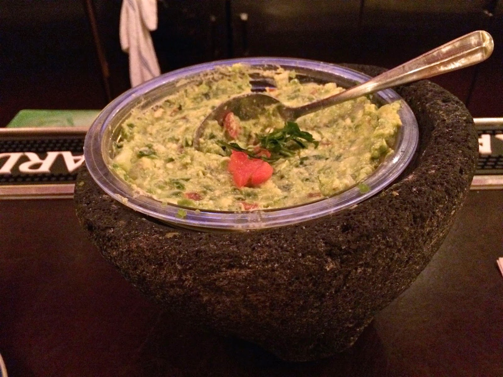 Guacamole at Colibri SF