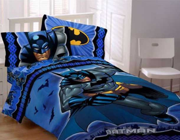 Superhero Bedding Theme For Boys Bedroom | Interior Decorating Idea