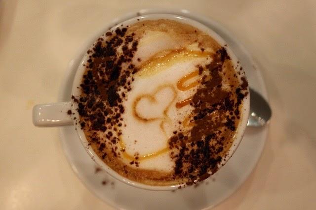 Buen café en Pozuelo